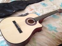 Beginners Acoustic Guitar with Accessories