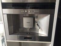 Integreted seimens coffee machine, perfect working order, £200 ONO