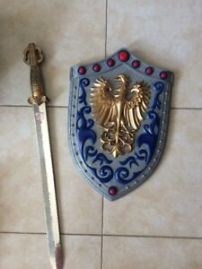 kids knight  sword and shield