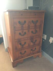 Lexterten Set of Draws and Cabinets - Yew Wood