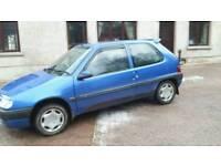 1998 Citroën Saxo 1.1 petrol