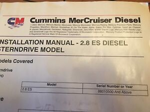 2008 4 cylinder turbo charged cummins Diesel engine