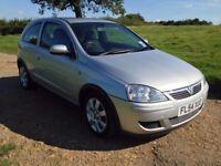 Vauxhall Corsa 1.3 Diesel, 71k, MOT 12/17