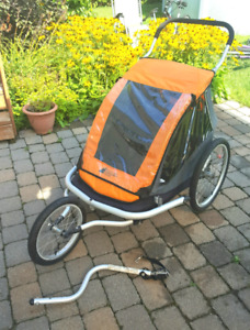 Chariot a vélo comme NEUF Mountain Equipement -