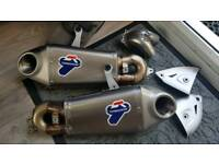 Ducati panigale 899/1199 termignoni exhaust with sprint filter