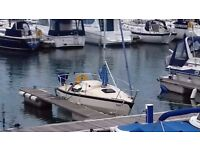SWIFT 18 SAILING BOAT WITH TRAILER