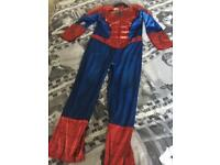 Spider-Man suit size 7-8