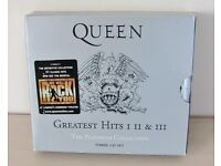 CD's Queen Greatest Hits I II III - Three CD Set - The Platinum Collection from 2000 Great Condition
