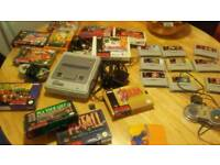 Super nintendo and games