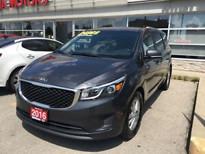 2016 Kia Sedona LX+ 8 seater!!! Only 37,000 kms