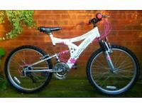 """Utopia Ice Maiden girls/ladies bike,24""""wheels,15speed"""