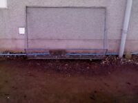 galvanised window guard would suit dog pen etc either