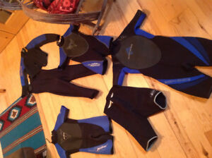 Assorted wetsuits for sale! Like new!
