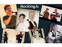 MockingJs, Male/Female Duo in Kent, Performing a wide range of covers, from 70s to current day.