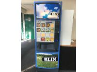Klix vending machine