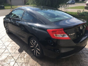 2013 HONDA CIVIC EX-L COUPE  NAVIGATION LEATHER SUNROOF