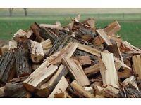 Fire wood logs sold per trailer load