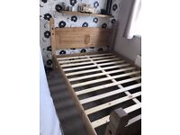 coroner king size bed can deliver