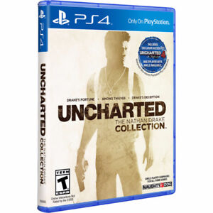 Sealed Copy of Uncharted The Nathon Drake Collection