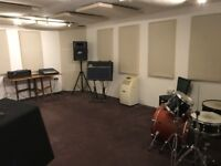 Professional music studio in the heart of Dalston
