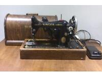 45k Singer Sewing Machine vintage electric working