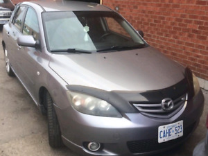2006 mazda 3 hatchback auto grey.