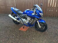 K7 Suzuki GSF 650 SA Bandit, rear hugger, belly pan and radiator cover included, full years MOT