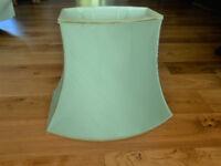 Lampshade, classic shape - eau de nil