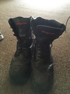 Snap on Heavy Duty Work Shoes Top Line