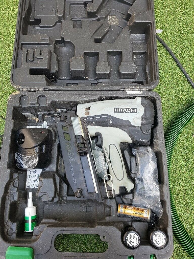hitachi 2nd fix nail gun. hitachi nt65gb 2nd fix nail gun