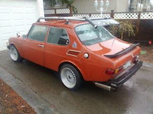 1975 saab 99 turbo running and driving good comes with safety
