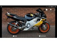 Honda cbr600f in excellent condition. 18,000 miles