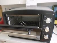 SILVERCREST ELECTRIC OVEN & GRILL 1500W IN EXCELLENT CONDITION ONLY SIX MONTHS OLD VERRY LITTLE USED