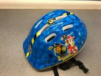 Boys Paw patrol cycling Helmet