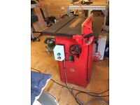 """Multico 16"""" 3hp single phase table saw"""