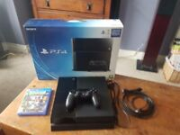 Boxed PS4 with Brand New Sealed Crash Bandicoot Game