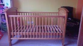 Solid Wood Baby/Child Cot Bed