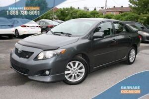 2010 Toyota Corolla S CLIMATISEUR-JUPES