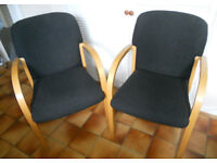 2 Office or Reception Chairs - £30 the pair