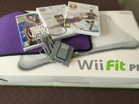 Wii Fit Balance Board, Mat, Recharge Batteries and Keep Fit Games