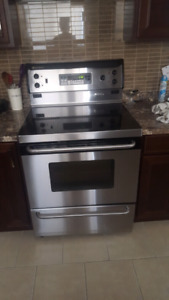 GE Stainless Steel Stove