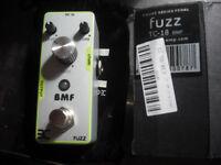 Eno stomp TC-18 BMF distortion fuzz pedal pedal effect mini hyper muff big super