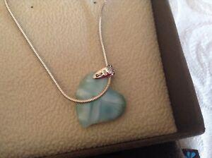 Marahlago heart necklace