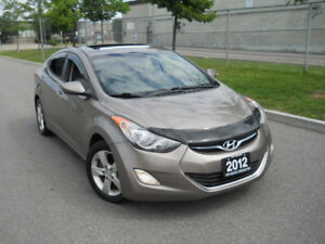 2012 Hyundai Elentra, Automatic, Sunroof,  Warranty available.
