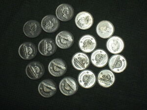 Uncirculated 2002 Canadian Nickels