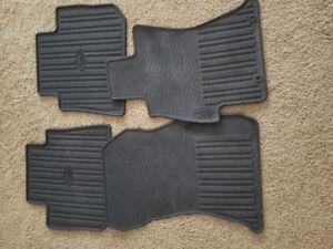 Subaru wrx rubber floor matts