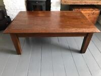 Beautiful solid hardwood coffee table