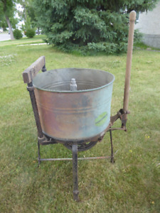 Antique Copper Washing Machine-almost 100 years old