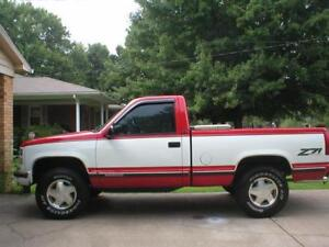Searching for a Clean Older GMC/Chevy 4X4 Pickup Truck