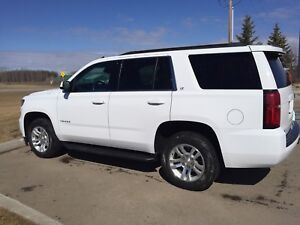2015 White Tahoe LT / NO TAX/Leather/Sun Roof